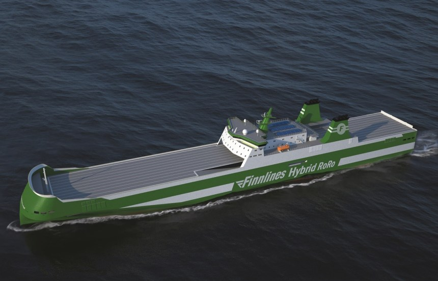 Finnlines chooses SeaQuest to supervise construction of zero emission ro-ros