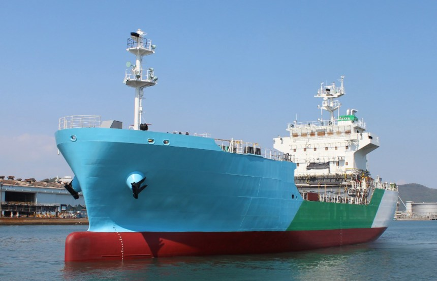 Japan launches first LNG bunkering vessel