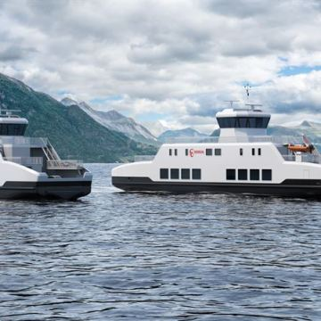 Wärtsilä to design and equip two zero-emissions battery powered ferries