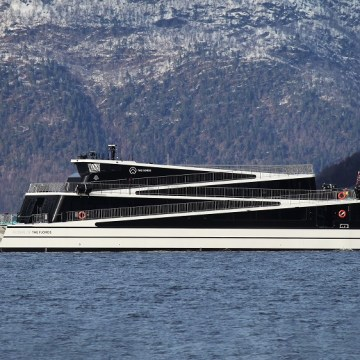 The Fjords takes delivery of second all-electric ship, Legacy of The Fjords