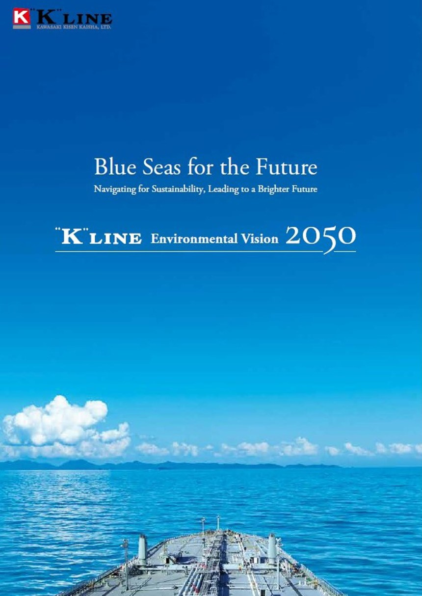 """K"" Line launches revised Environmental Vision for 2050"