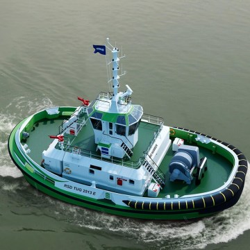 Damen and Echandia to jointly develop electric tug