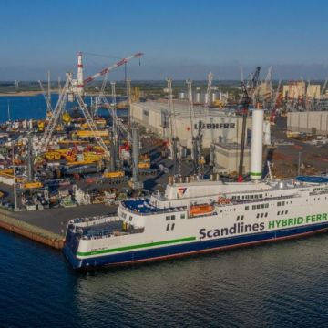 Scandlines reports successful first months operating with Norsepower Rotor Sail
