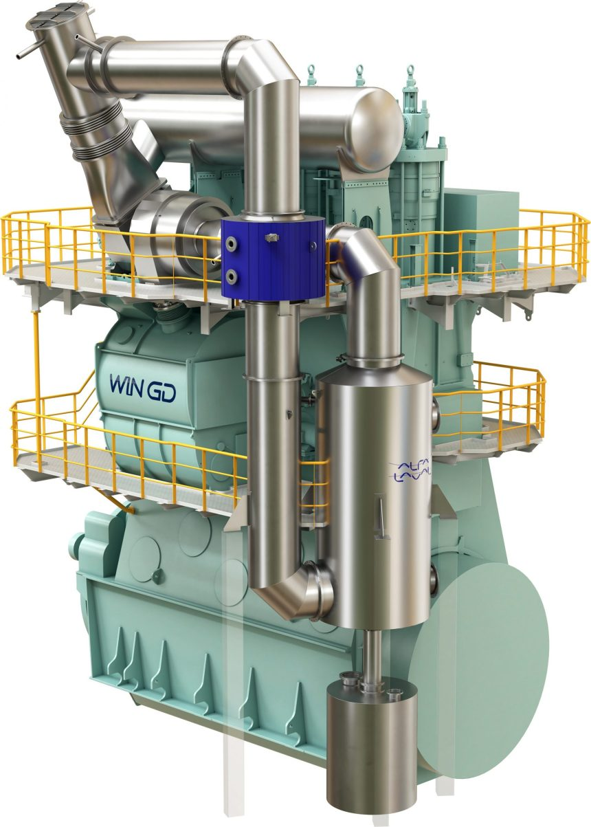 Alfa Laval and WinGD cut methane slip by 50 per cent