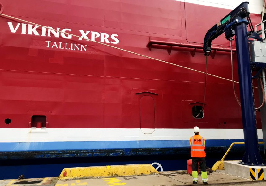 ABB delivers shore connection tech for Viking Line ferry