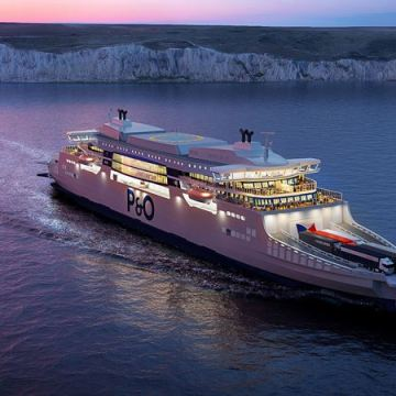 Wärtsilä selected to power P&O 'super ferries'