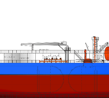 Høglund and HB Hunte develop tank concept for LPG and CO2 transportation