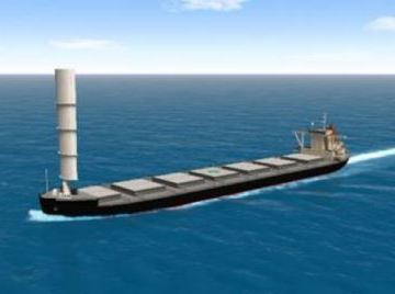 MOL secures deal for wind assisted vessel