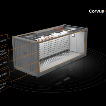 Corvus introduces containerised battery room solutions
