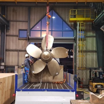BV certifies new-generation 3D printed propeller