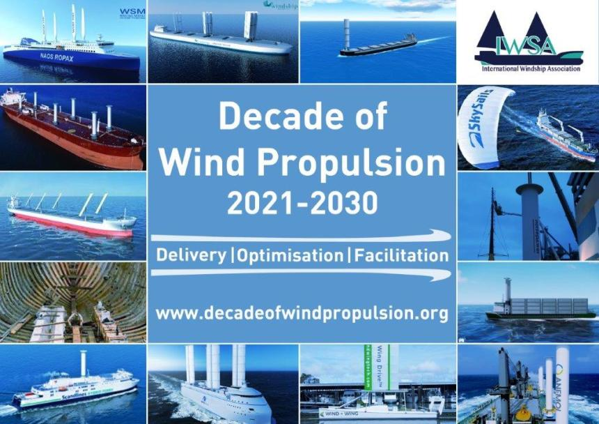 Driving the decade of wind propulsion
