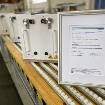 Sterling PlanB gains DNV approval for lithium batteries