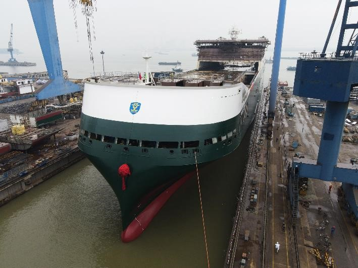 Finnlines launches first of three new hybrid ro-ro vessels