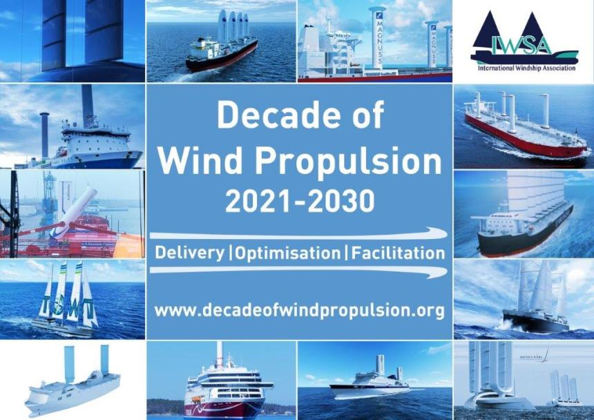 Ship propulsion: transition is in the wind