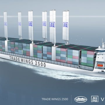 BV approves wind powered container ship