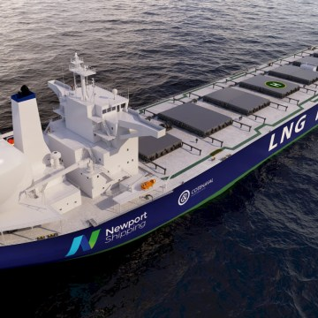 Newport receives DNV approval for LNG fuel tank system
