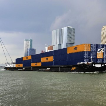 Future Proof Shipping meets CCNR conditions to sail on hydrogen