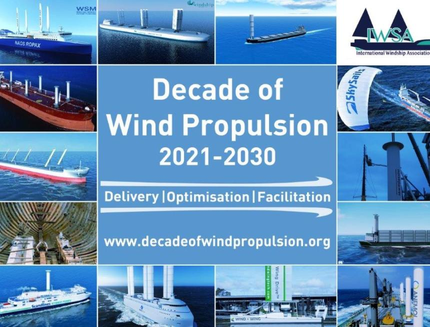 Wind propulsion stakeholders call for action to remove barriers to uptake