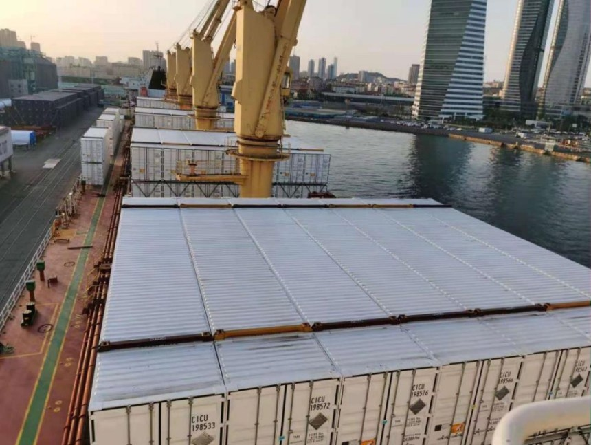 BV issues guidelines for the carriage of containers in bulkers