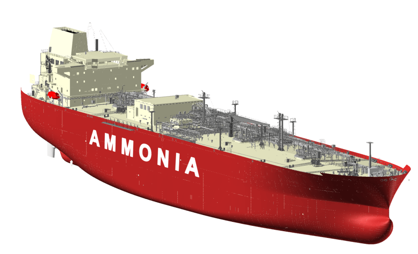 HHI & KSOE receive AiP for ammonia-fuelled carrier