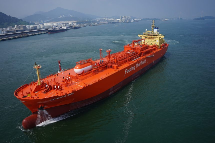 Navigator Gas awarded DNV AiP for ammonia-fuelled gas carrier