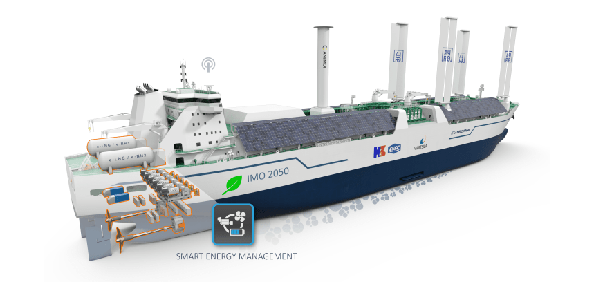 Industry trio to develop IMO 2050 CII-ready LNG carrier