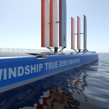 Windship secures DNV's AiP for triple-wing design