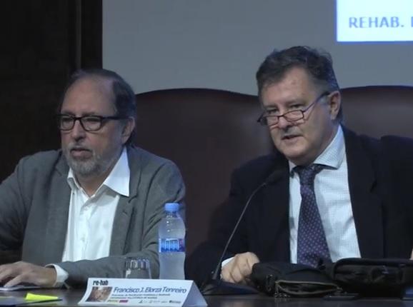 Sesión inaugural: Francisco Javier Elorza Tenreiro y Agustín Hernández Aja