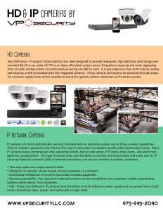 HD & Megapixel Video Security