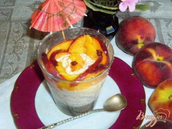 Персиковый десерт - рецепты с фото на vpuzo.com