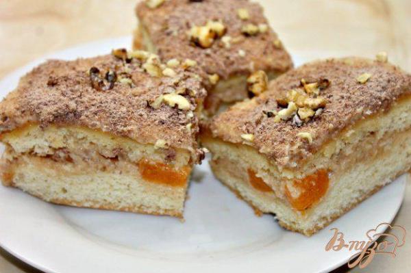 Бисквитный торт с масляным кремом и мандаринами - рецепты ...
