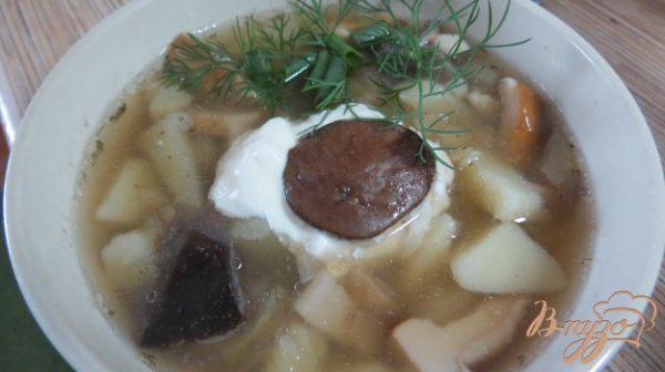 Грибной суп с белыми грибами - рецепты с фото на vpuzo.com