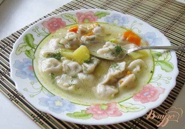 Суп с пельменями 4 - рецепты с фото на vpuzo.com