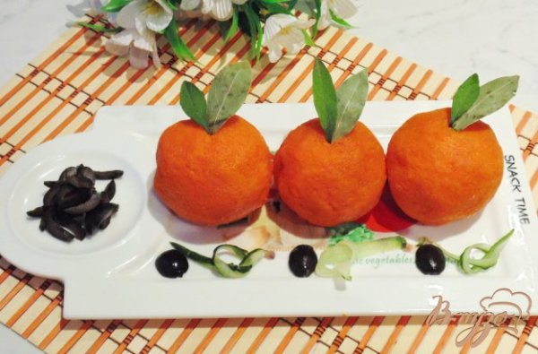 Закусочные апельсины - рецепты с фото на vpuzo.com