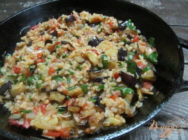 Булгур с баклажаном - рецепты с фото на vpuzo.com