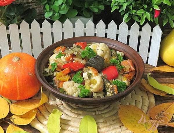 Рагу из цветной капусты в мультиварке - рецепты с фото на ...