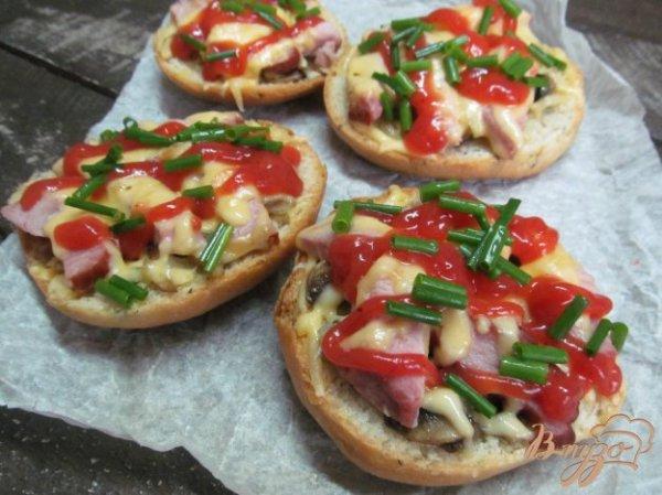 Открытый бутерброд - запеканка - рецепты с фото на vpuzo.com