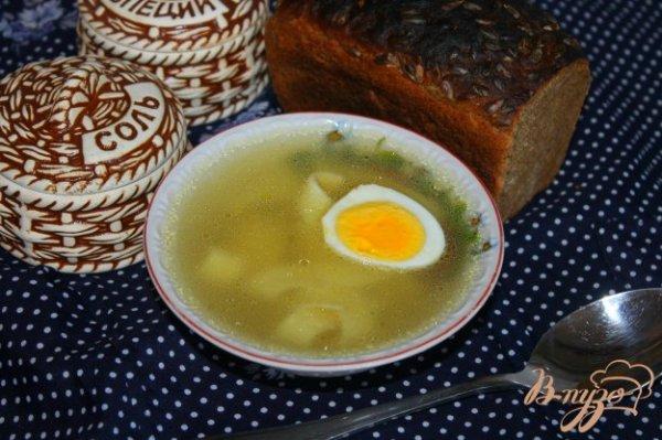 Куриный бульон с макаронами и яйцом - рецепты с фото на ...