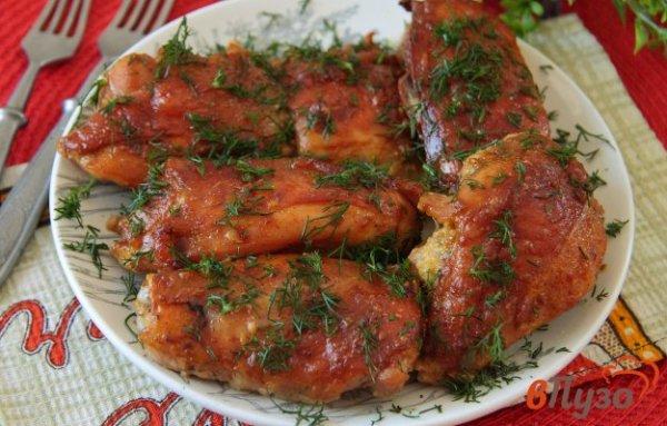 Куриные бедрышки с майонезом в соевом соусе 1 - рецепты с ...