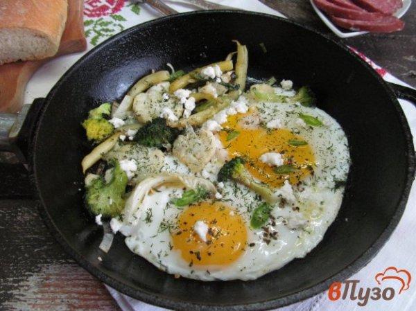 Быстрый завтрак из яйца с овощами 1 - рецепты с фото на ...