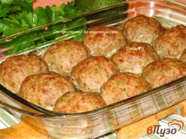 Котлеты из свинины и говядины, запеченные в духовке 1 ...