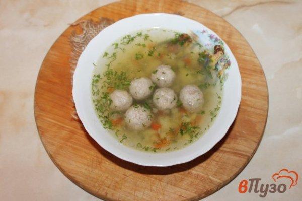 Суп с кабачком, перцем и фрикадельками 1 - рецепты с фото ...
