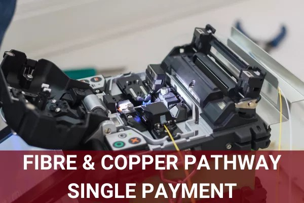 BTEC Level 3 Copper & Fibre Pathway - Single Payment