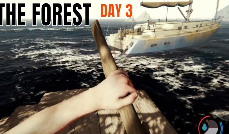 The Forest | PS4 | DAY 3 – Building a Raft & SAILING | | RealLexi VR