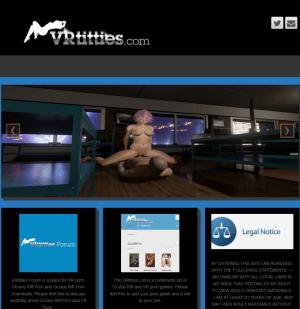 VRtitties Oculus Rift Porn & Forum
