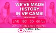VirtualRealCam、VRカム史上初の6000人以上に同時配信。