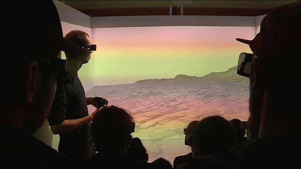 Réalite virtuelle CAVE 3D