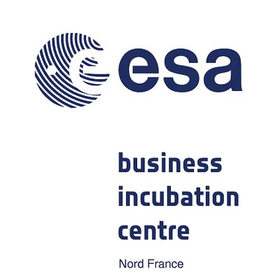ESA-Business Incubation Center - Nord France- Logo
