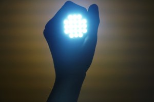 Gekleurde LED lamp