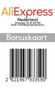 Bonuskaart barcode